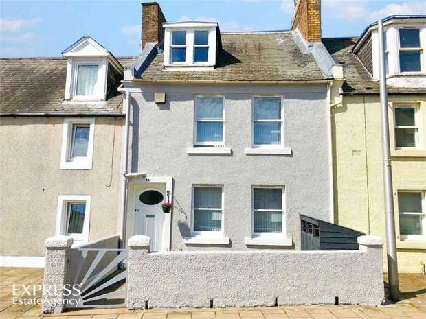 4 Bedrooms Terraced House for sale in Marketgate, Arbroath, Angus