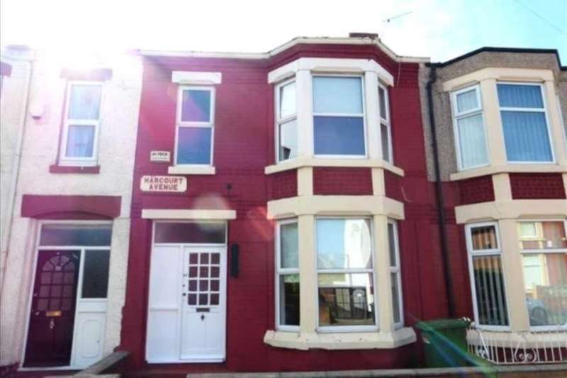 5 Bedrooms Terraced House for sale in Harcourt Avenue, Wallasey
