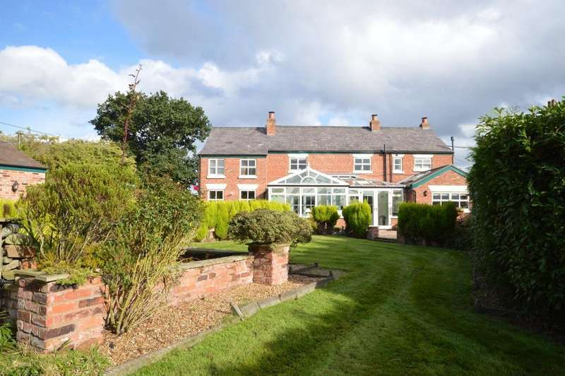 5 Bedrooms Detached House for sale in Shutley Lane, Little Leigh, Northwich