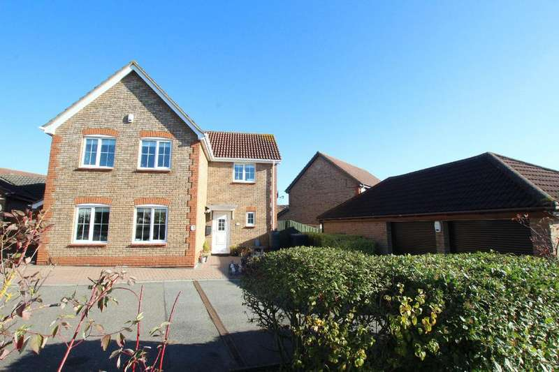 4 Bedrooms Detached House for sale in Chivers Road, Haverhill CB9