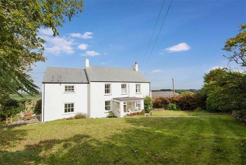 5 Bedrooms Detached House for sale in Gillan, Manaccan, Helston, Cornwall, TR12