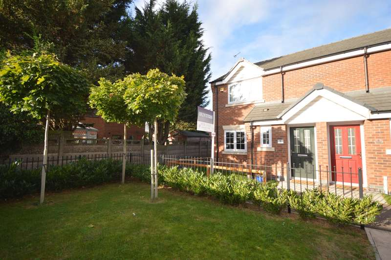 3 Bedrooms Semi Detached House for sale in Rowan Close, Blaby, Leics , LE8 4BJ