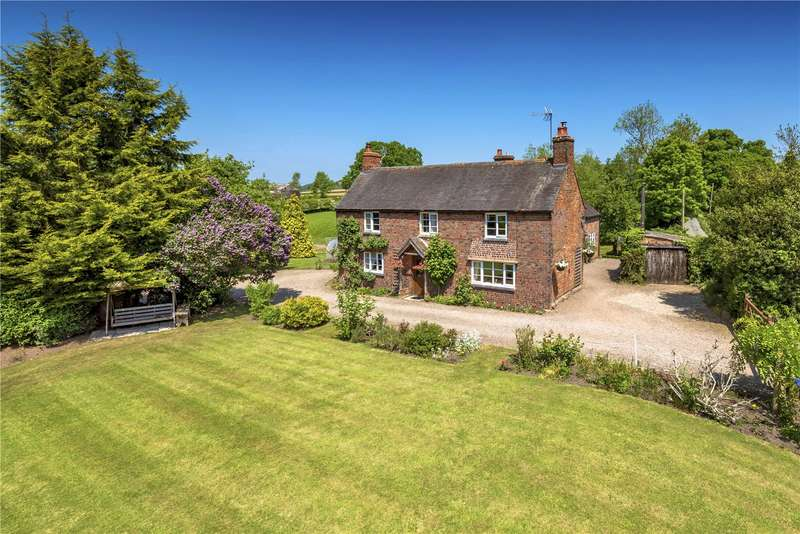 5 Bedrooms Detached House for sale in Wootton Farmhouse, Wootton, Bridgnorth, Shropshire, WV15