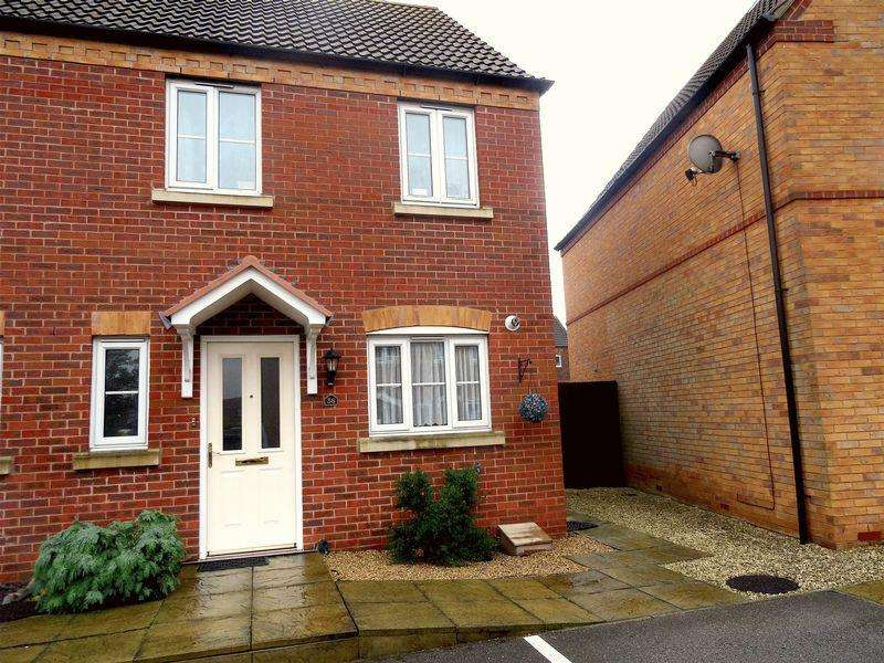 3 Bedrooms End Of Terrace House for sale in Thistle Gardens, Spalding