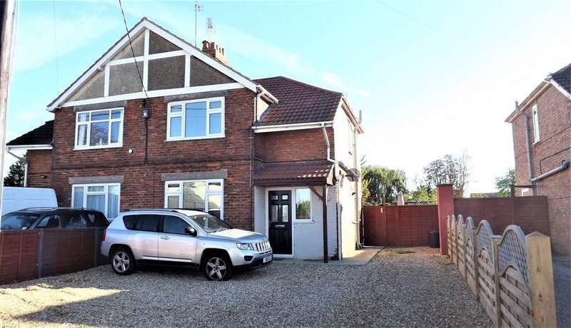 3 Bedrooms Semi Detached House for sale in Wignal Gate, Holbeach