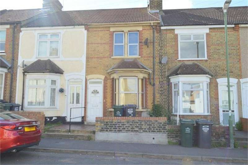 3 Bedrooms Terraced House for sale in Church Road, Swanscombe, Kent