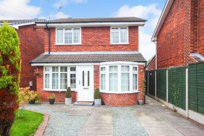 3 Bedrooms Detached House for sale in Rushton Drive, Middlewich, Cheshire