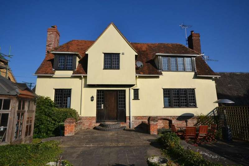 3 Bedrooms Detached House for sale in Church End, Broxted