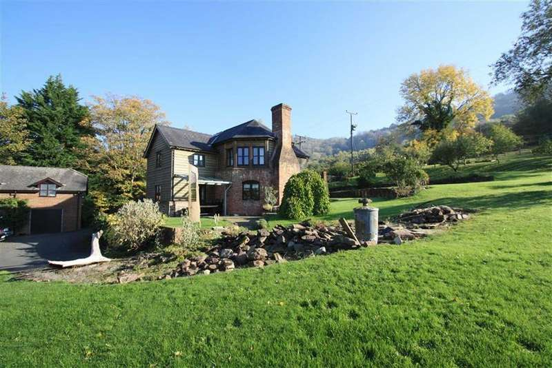 4 Bedrooms Cottage House for sale in Hay on Wye, Bredwardine Hereford, Herefordshire
