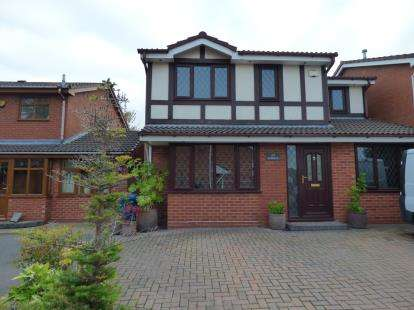 5 Bedrooms Detached House for sale in Sudeley, Dosthill, Tamworth, Staffordshire