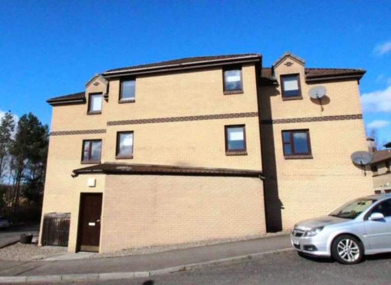 2 Bedrooms Flat for sale in 21, Kinclaven Gardens, Glenrothes, Fife