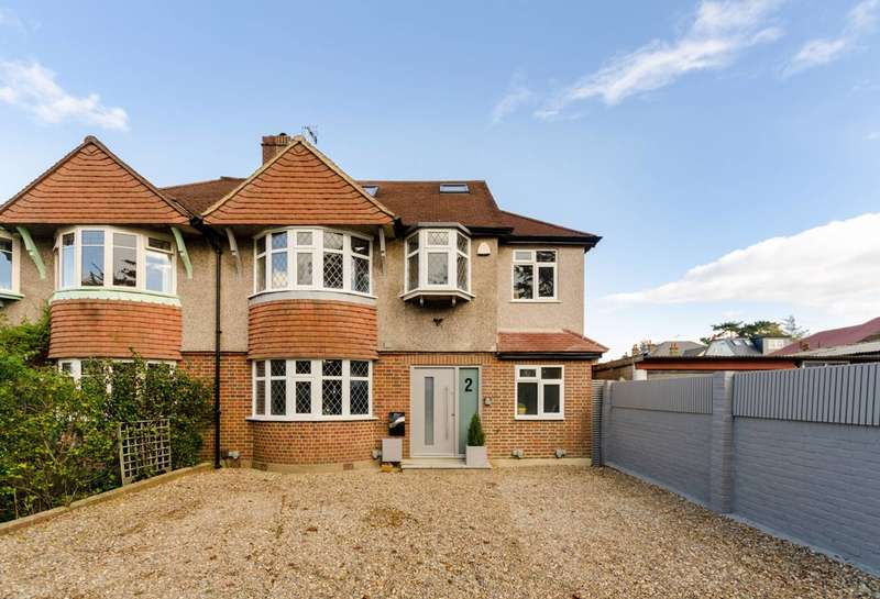4 Bedrooms Semi Detached House for sale in Ewell Park Way, Ewell, KT17