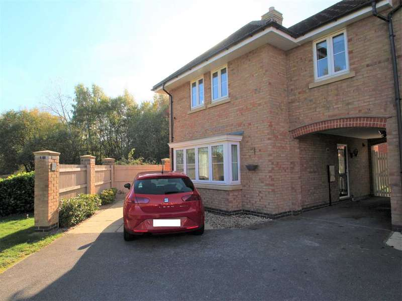 4 Bedrooms Semi Detached House for sale in Carnoustie Drive, Lincoln