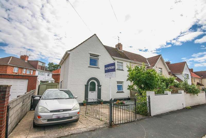 3 Bedrooms Semi Detached House for sale in Sidmouth Road, Bedminster, Bristol, BS3 5HT