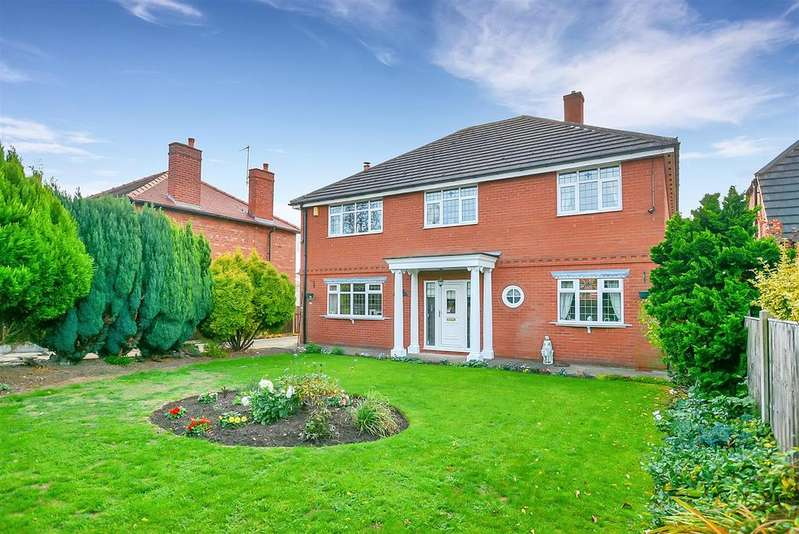 4 Bedrooms Detached House for sale in Clipstone Road West, Forest Town