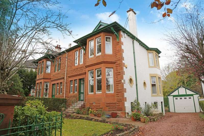 4 Bedrooms Semi Detached House for sale in Milverton Road, Giffnock, Glasgow, G46