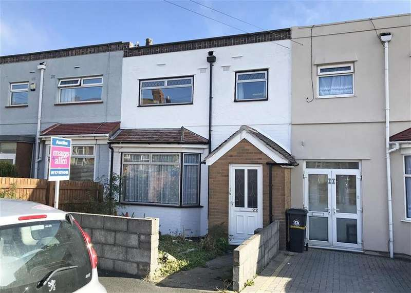 3 Bedrooms Terraced House for sale in Lewis Road, Bedminster Down, Bristol