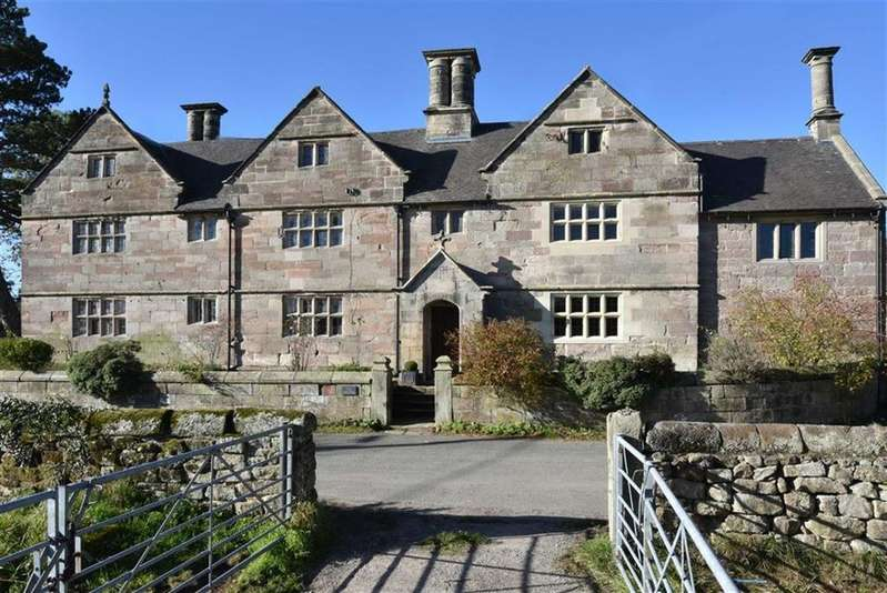 5 Bedrooms Detached House for sale in The Old Hall, Hall Lane, Middle Mayfield, Ashbourne, Derbyshire, DE6