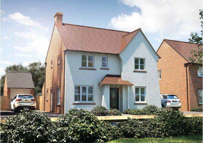 4 Bedrooms Detached House for sale in The Berrington, Pinhoe, Pinncourt Lane, Exeter, EX1