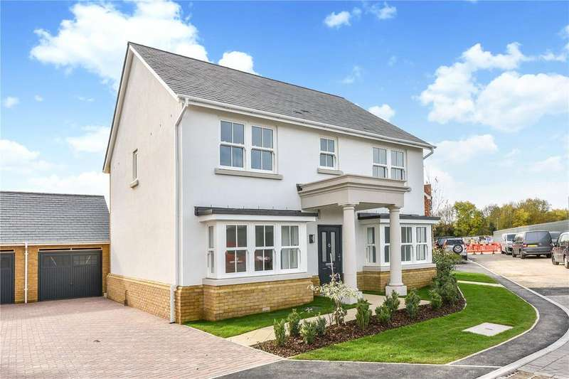 4 Bedrooms Detached House for sale in Aurum Green, Crockford Lane, Chineham, Hampshire, RG24