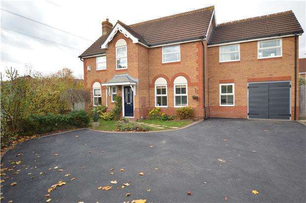 5 Bedrooms Detached House for sale in The Brake, Yate, BRISTOL, BS37 7QW