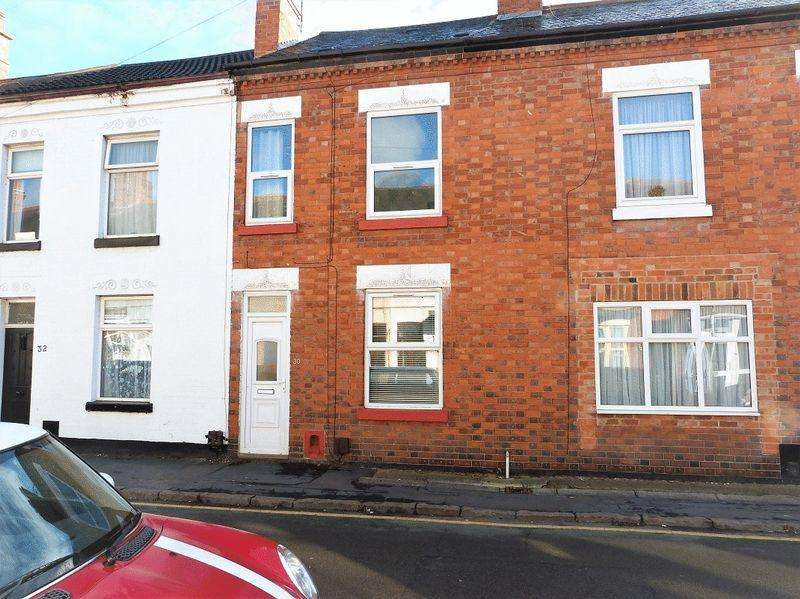 2 Bedrooms Terraced House for sale in St Peters Street, Syston