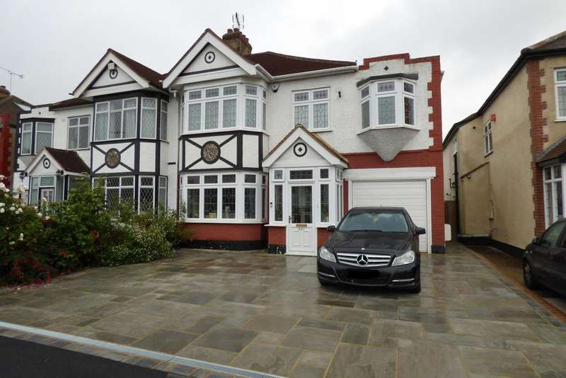4 Bedrooms Semi Detached House for sale in Corbets Tey Road, Upminster RM14