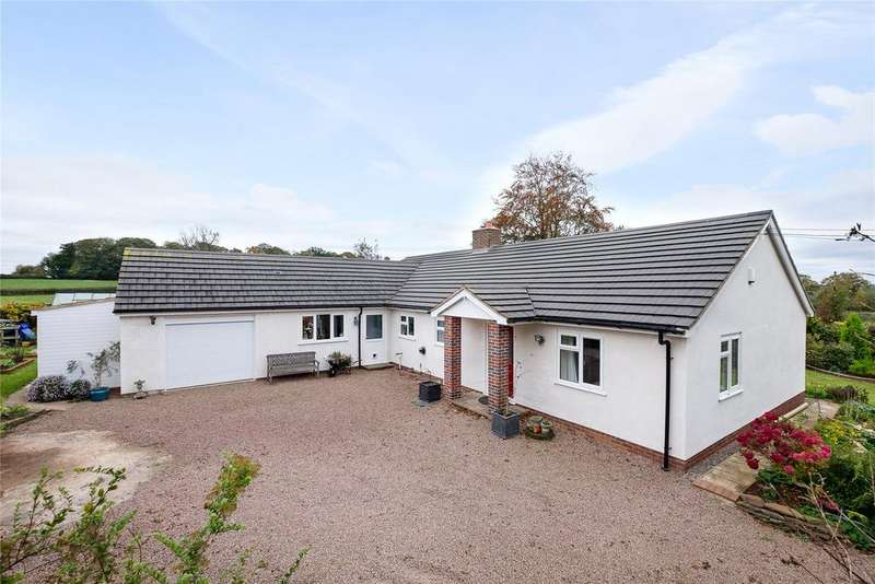 3 Bedrooms Detached Bungalow for sale in Pencombe Road, Winslow, Bromyard, HR7