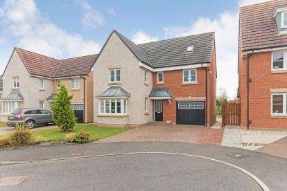 5 Bedrooms Detached House for sale in Pennant Court, Irvine, North Ayrshire