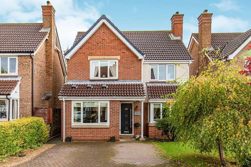 4 Bedrooms Detached House for sale in Carnoustie Grove, Darlington, DL1