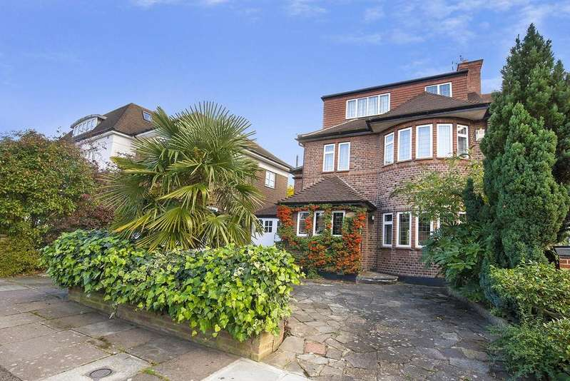 5 Bedrooms Semi Detached House for sale in Grosvenor Gardens, Temple Fortune, NW11