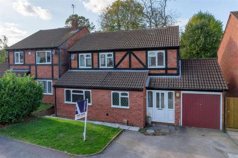 4 Bedrooms Detached House for sale in Wightman Close, Shepshed