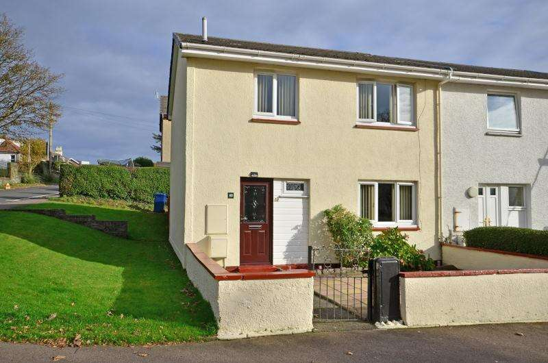 3 Bedrooms End Of Terrace House for sale in Douglas Cottages, Park Road, Dunoon, Argyll, PA23
