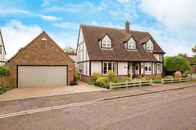 4 Bedrooms Detached House for sale in Greenford Close, Orwell