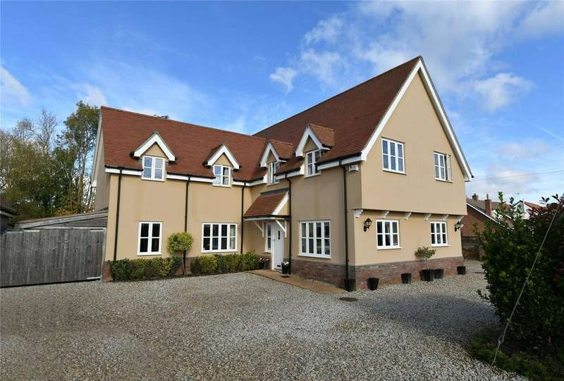 5 Bedrooms Detached House for sale in Chattisham, Nr Ipswich, Suffolk, IP8
