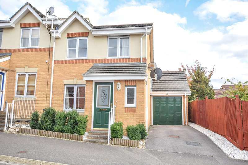 3 Bedrooms Semi Detached House for sale in Turing Drive, Bracknell, Berkshire, RG12