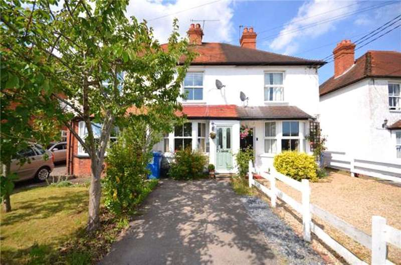 2 Bedrooms Terraced House for sale in Milley Bridge, Waltham St. Lawrence, Reading, Berkshire, RG10