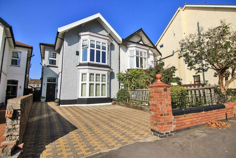 5 Bedrooms Semi Detached House for sale in Eaton Crescent, SWANSEA