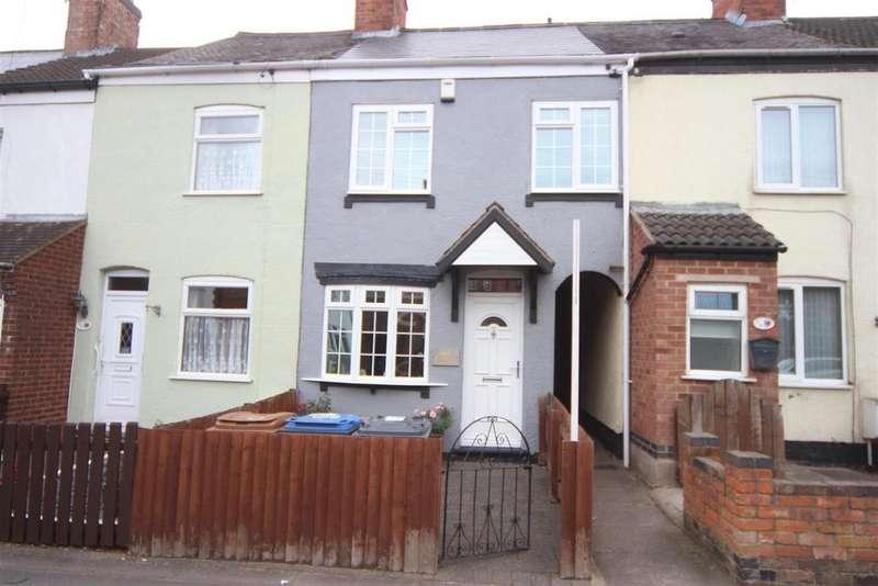 2 Bedrooms Terraced House for sale in Hinckley Road, Burbage, Hinckley