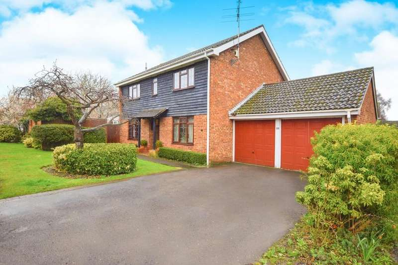 4 Bedrooms Detached House for sale in Gernon Close, Broomfield, CM1 7HW
