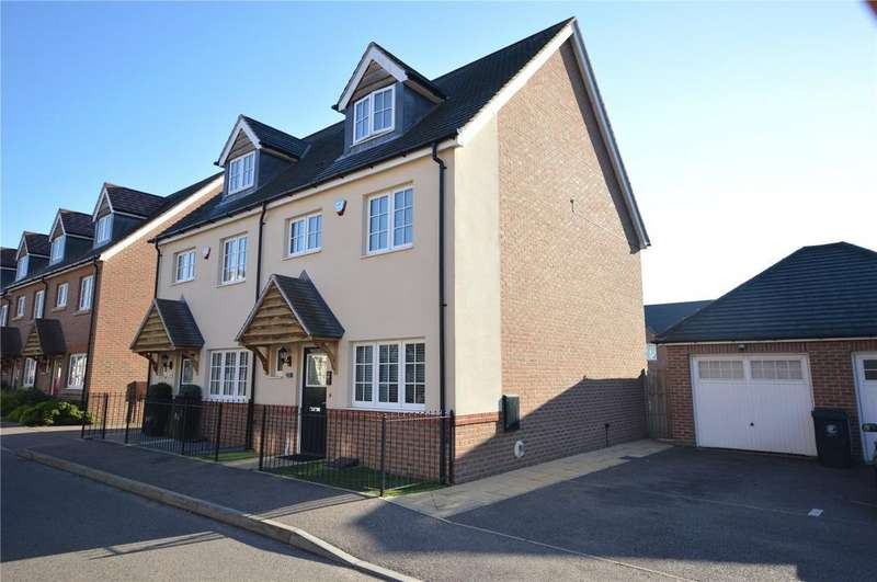 3 Bedrooms Semi Detached House for sale in Abbess Terrace, Loughton, Essex, IG10