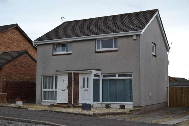 2 Bedrooms Semi Detached House for sale in 24 Greenacres, ARDROSSAN, KA22 7PP