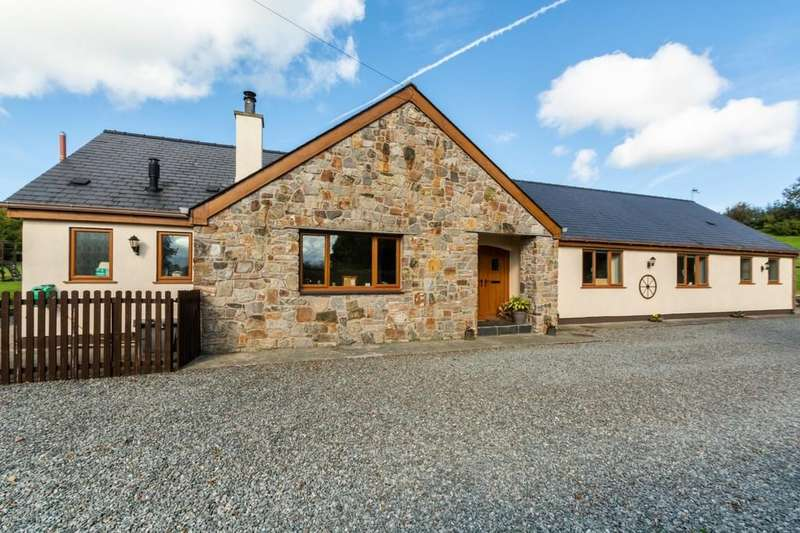 5 Bedrooms Detached Bungalow for sale in Llandegfan, Menai Bridge, North Wales
