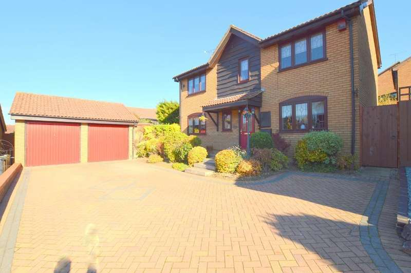 4 Bedrooms Detached House for sale in Ryefield, Barton Hills, Luton, LU3 4DJ