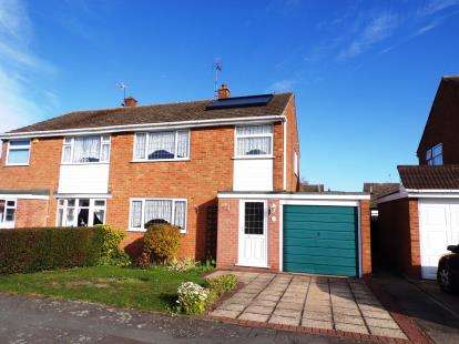 3 Bedrooms Semi Detached House for sale in Britford Avenue, Wigston, Leicestershire