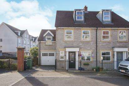 4 Bedrooms Semi Detached House for sale in Barter Close, Kingswood, Bristol, Gloucestershire