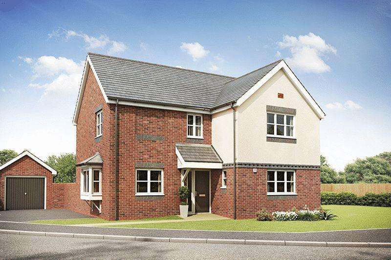 4 Bedrooms Detached House for sale in Hanslei Fields, Ansley, CV10 9PS (Jay Design)