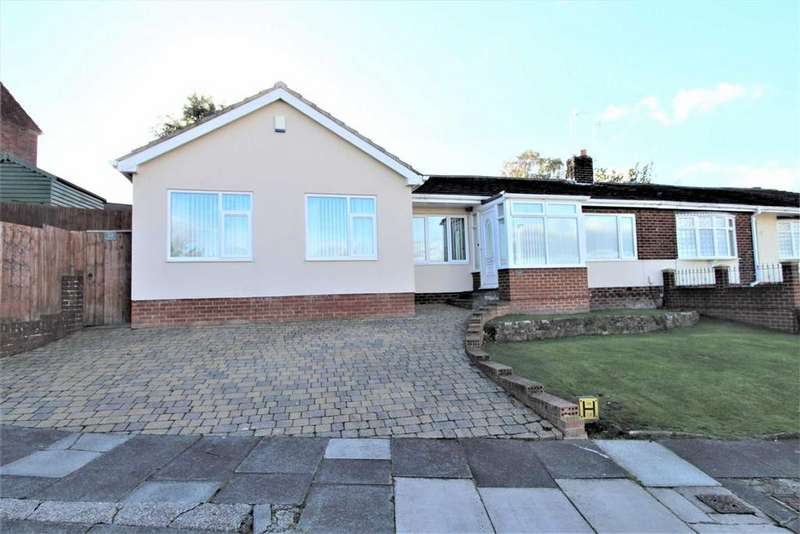 4 Bedrooms Semi Detached Bungalow for sale in Hillside, Dunston, Tyne And Wear