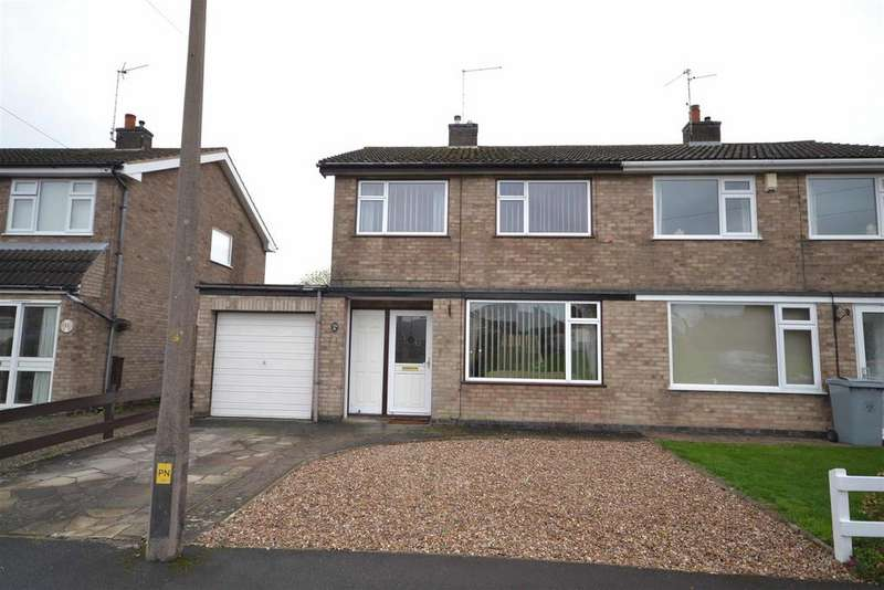 3 Bedrooms Semi Detached House for sale in Walcot Way, Stamford