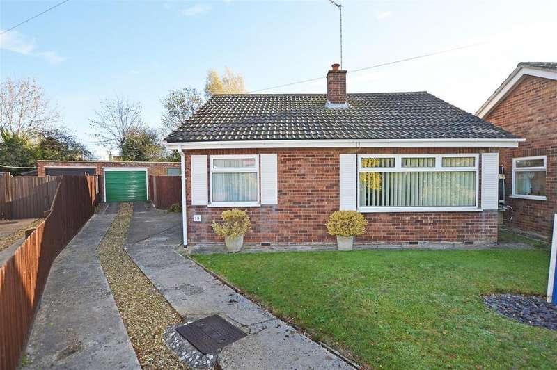 2 Bedrooms Detached Bungalow for sale in Woodland Lea, Helpston, Peterborough